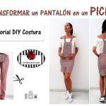 Cómo Transformar un pantalón en un pichi