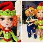 DIY Elfo amigurumi patròn gratis
