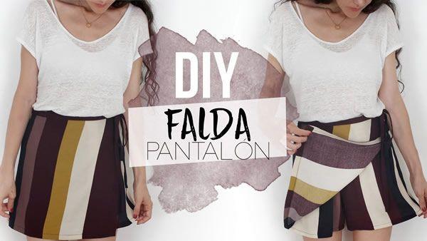 DIY Falda pantalón