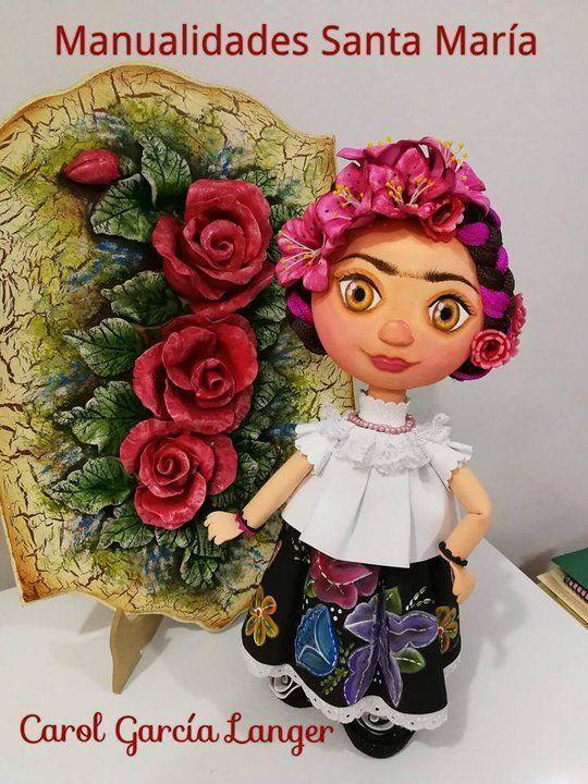 Muñeca fofucha Frida