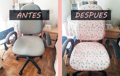 tapizar-silla-oficina - Patrones gratis