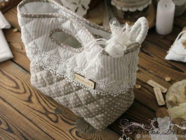 DIY y patrón de bolsa de tela elegante