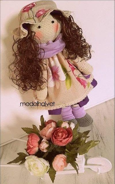 Muñeca rusa en amigurumi paso a paso