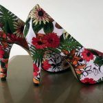 DIY Forrar zapatos en tela
