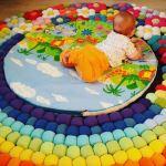DIY Alfombra para bebé