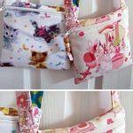 DIY Bolso bandolera de tela