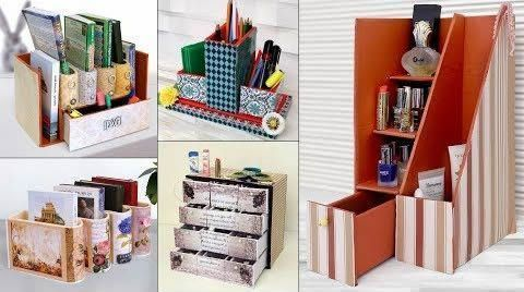 DIY Crear organizadores con cartón