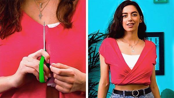 DIY Maneras creativas de transformar tu camiseta
