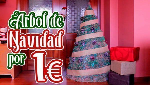 DIY Árbol de Navidad por solo 1 euro