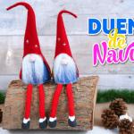 DIY Duendes de Navidad con moldes