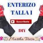 DIY Enterizo pantalón jeans con polo