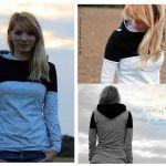 Patrón de Sudadera o suéter para mujer