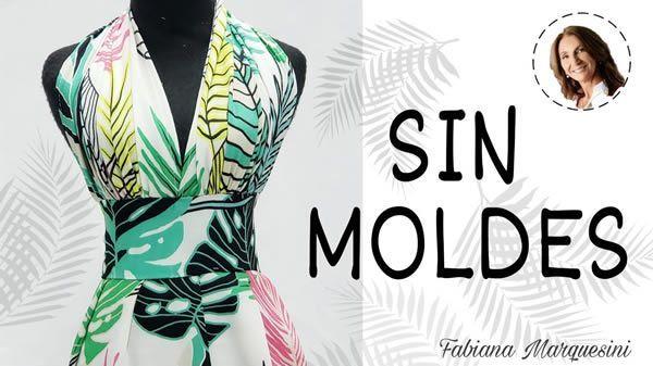 DIY Vestido sin moldes estilo Marilyn Monroe