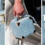 DIY Bolso cuadrado Jeans para mujer