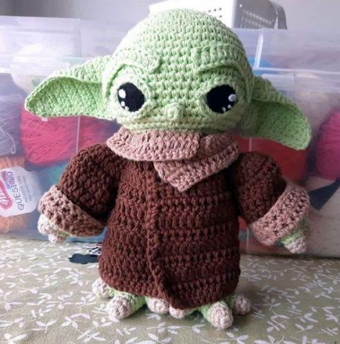 Muñeco amigurumi a crochet