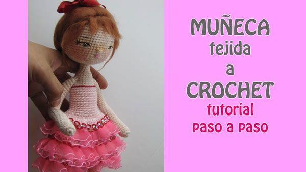 Muñeca tejida a crochet