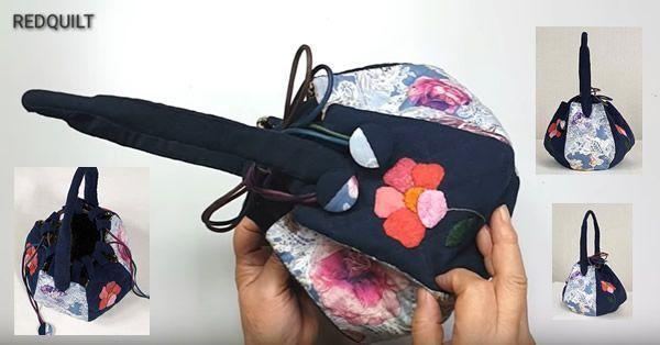 DIY Bolso en forma hexágono