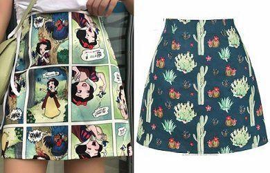 Mini falda fácil de hacer