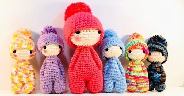Muñeco amigurumi patrón