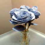 DIY Rosas de tela con pantalón