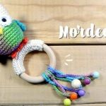 DIY Mordedor Búho para bebé a crochet