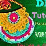 DIY Bolso para niña a crochet