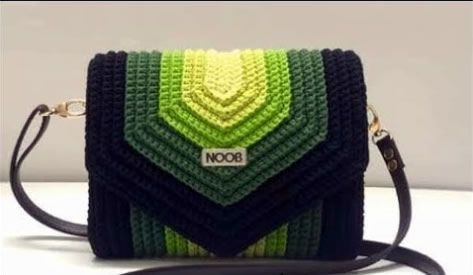 DIY Bolso elegante a crochet estilo sobre