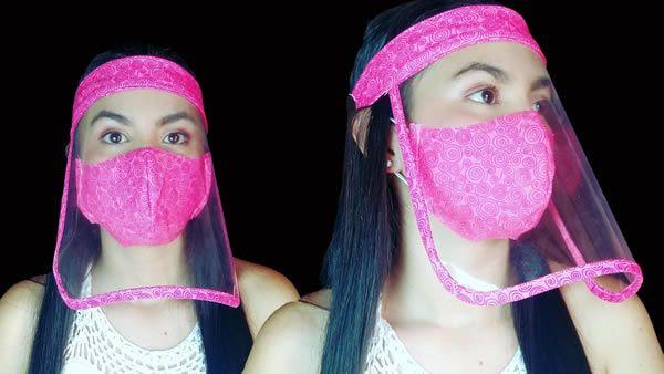 Protector facial casero fácil de hacer
