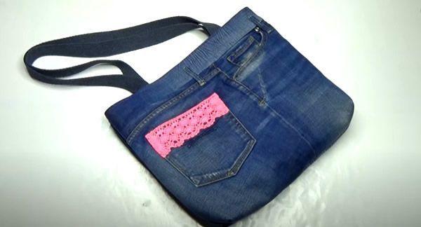 DIY Bolso vaquero reciclando unos jeans
