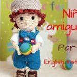 DIY Muñeco niño en amigurumi