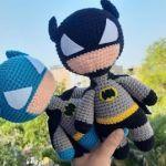 Batman tejido en amigurumi o crochet