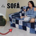 Como hacer una funda para el sofá