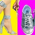25 Ideas creativas para transformar zapatos