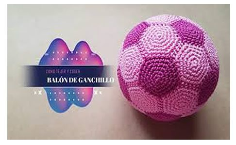 Balón tejido a crochet