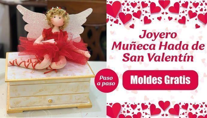 Muñeca Hada en Joyero