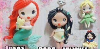 Princesas en porcelana fría paso a paso