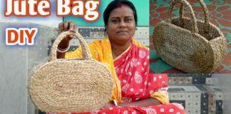 DIY Bolsa de mano con cuerda de yute
