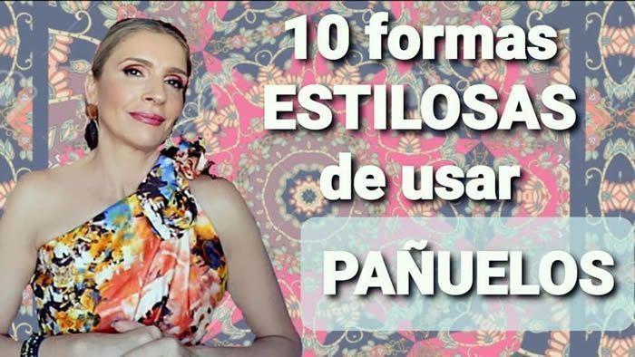 10 Ideas con estilos para llevar pañuelos