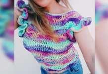 DIY Top caribe a crochet paso a paso