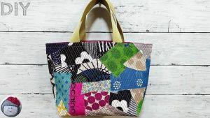 Bolsas hechas con restos de tela