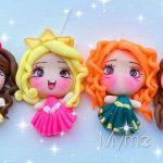 Princesas Disney en porcelana fría flexible