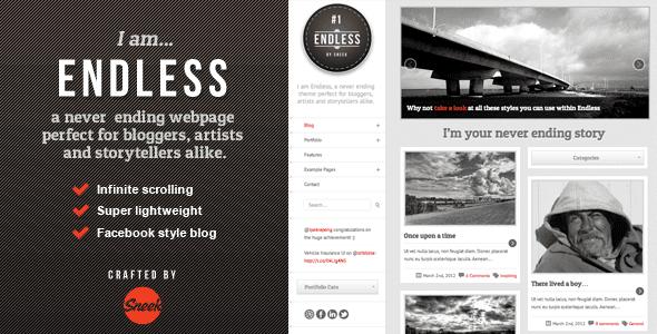 Endless - Infinite scrolling WordPress Theme - PatSaTECH
