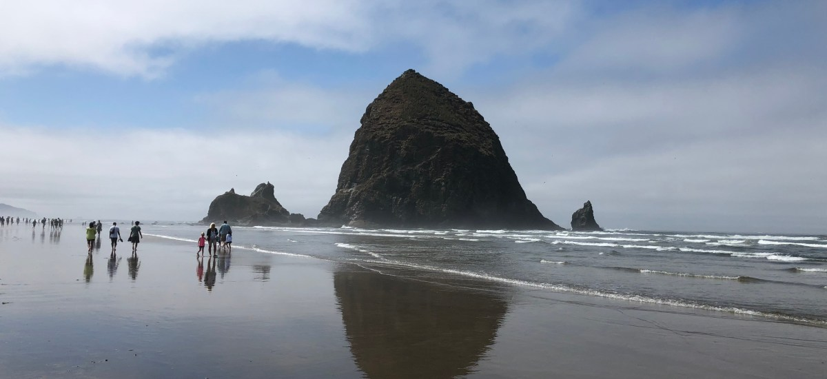 Visiting Cannon Beach, Oregon for a Day with Kids