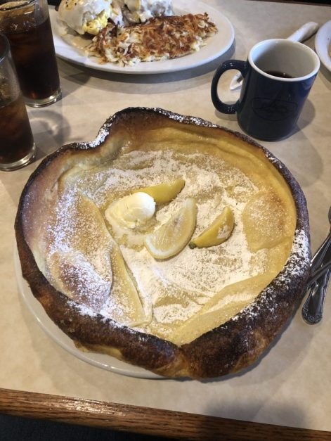 #germanpancake #elmerspalmsprings