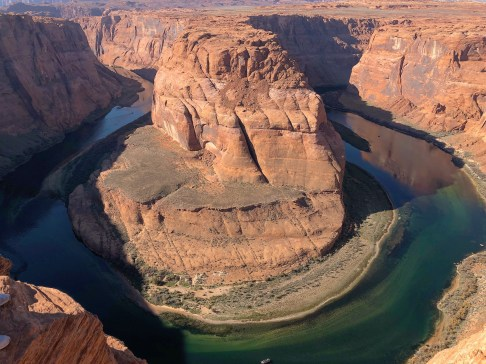 Horseshoe Bend, Page, Arizona #horseshoebend #pageAZ #arizona #canyon #southwestUSA #roadtrip
