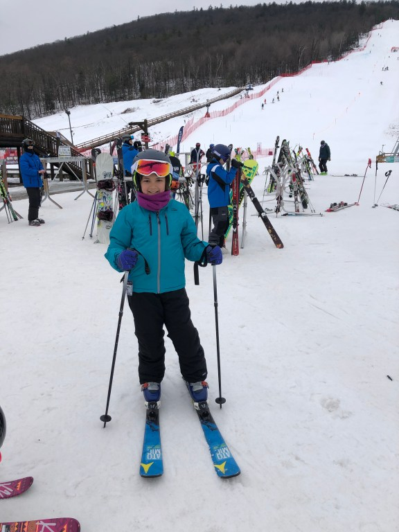 Skiing at West Mountain #westmountain #skiwest #skiing #skiingkids
