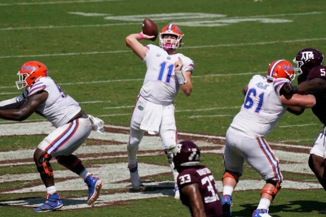 Patriots 2021 Draft Profile, QB Kyle Trask, Florida