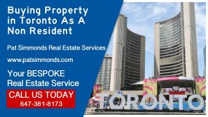 Buying Property In Toronto As A Non Resident
