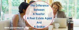 The Differences Between A Realtor, A Real Estate Agent And A Broker