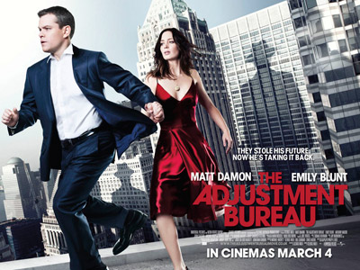 The Adjustment Bureau Poster 2
